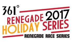 Renegade Racing and 361 Degrees USA Announce Partnership for Holiday Running Series