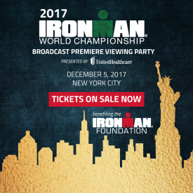 An Evening of Champions and Inspiration: Annual IRONMAN World Championship Broadcast Premiere Presented by UnitedHealthCare Set for December 5 in New York City