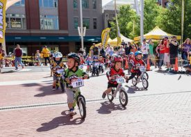 Toddlers from Ten Countries Racing Balance Bikes in Salt Lake City