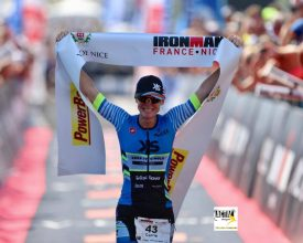 XRCEL Athlete Carrie Lester Wins IronMan France 2017