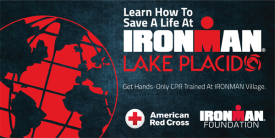 American Red Cross and IRONMAN Foundation to Hold Massive Hands-Only CPR Training in Lake Placid