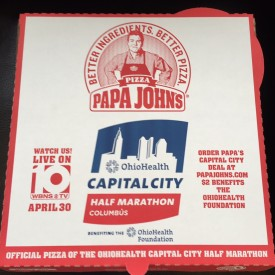Papa John's Of Central Ohio To Feature OhioHealth Capital ... Papa Johns Pizza Box Opened