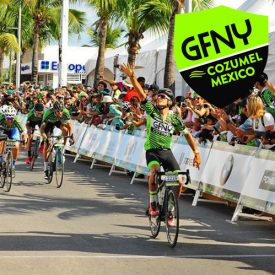 Record 3000 riders from 55 nations to start the 4th annual international GFNY Cozumel