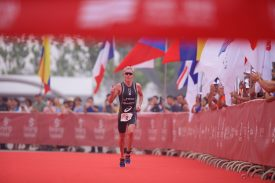 Henri Schoeman and Paula Findlay Win 2017 Beijing International Triathlon