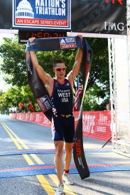 Jason West And Sarah Haskins Win 2017 Nation's Triathlon™