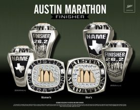 Custom Austin Marathon Finisher Rings Available for First Time