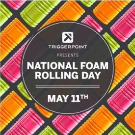TriggerPoint™ Celebrates Fourth Annual National Foam Rolling Day