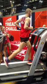 Altra Athlete Jacob Puzey Sets New World Record for Fastest 50-Miler on a Treadmill  at The Running Event Trade Show