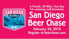 The Beer Chase Series Heads to San Diego