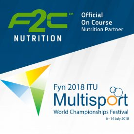 F2C Nutrition Named as Official Nutrition Sponsor of the Fyn 2018 ITU World Championships Festival