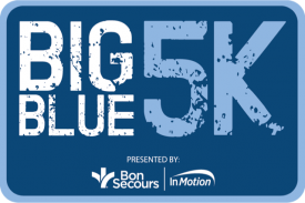 J&A Racing Hosted 2000 Runners At Old Dominion University For The Big Blue 5K presented by  Bon Secours In Motion in Conjunction with ODU Spring Football Game