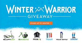 ElliptiGO and Partners Offer Ultimate Winter Training Giveaway
