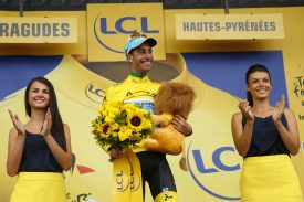 Fabio Aru Takes Over Yellow Jersey at Tour de France Aboard ARGON 18