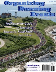 Road Race Management Publishes Greatly Expanded and Updated Second Edition of Organizing Running Events: The Complete Guide to Staging  a Successful Road Race
