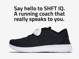 First virtual running coach with Artificial Intelligence, SHFT IQ, launches on Kickstarter