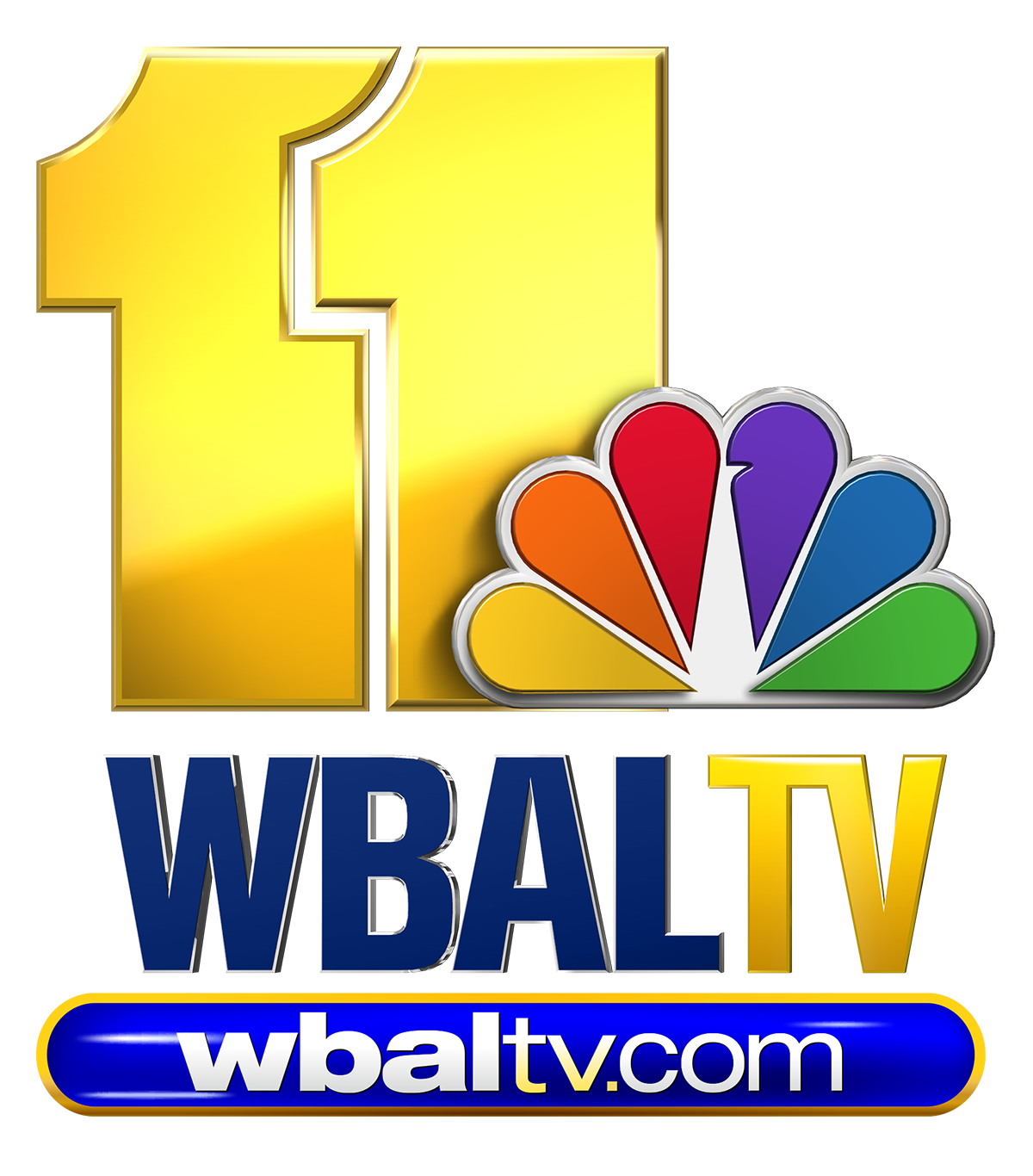 Wbal Tv Logo Vertical Blue 2017 For PR Newswire