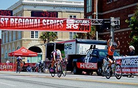 Competition Continues in Huntsville, Alabama for Amateur and Elite Cyclists for the Southeast Regional Series