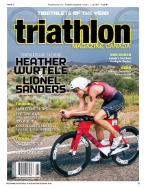 Team Wurtele's Heather Named Canada's 2016 Triathlete of the Year