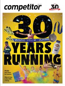 Competitor Magazine Celebrates 30 Years Running With June Issue