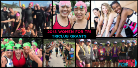 Applications Open Globally for Women For Tri 2018 Triathlon Club Grant Program