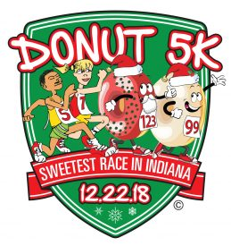 "12th Annual Donut 5K – ""The Sweetest Race in Indiana"" – Scheduled for Saturday, Dec. 22 at the Carmel Racquet Club"