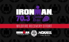 IRONMAN Foundation, HOKA ONE ONE, Firehouse Subs Public Safety Foundation join forces to support California wildfire relief efforts