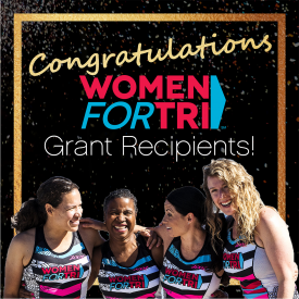 Women For Tri Provides Grants for Triathlon Clubs in U.S., Australia, New Zealand and China