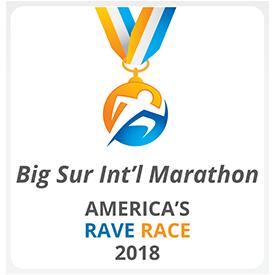 RaceRaves crowns Big Sur International Marathon as America's Rave Race in March Lunacy tournament