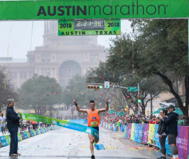 Austin Marathon Honored as a 2018 Champion of Economic Impact in Sports Tourism