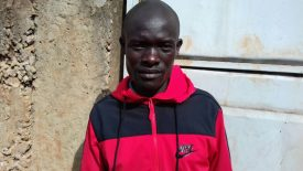 Uganda's Alex Chesakit Racing at Scotiabank Toronto Waterfront Marathon