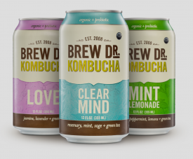 Brew Dr. Kombucha Cracks Open New Cans
