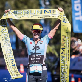 Super Tough Competitor Carrie Lester Wins Embrunman 2018 – Again