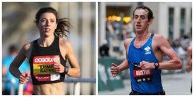 Emma Bates and Brogan Austin, 2018 USA Marathon Champions, Headline Fields at 2019 USATF Half Marathon Championships
