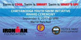 Chattanooga Youth to Receive Swim Scholarships as Part of 2017 IRONMAN 70.3 World Championship