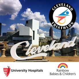 Cleveland Triathlon Announces University Hospitals Rainbow Babies & Children's as the Official Charity for the 32nd Annual Event