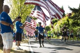 Transamerica Rock 'n' Roll Half Marathon San Francisco Partners with wear blue: run to remember