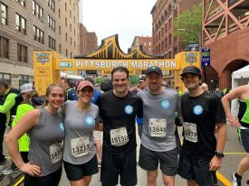 Pittsburgh Kids of Steel Benefit from Darren Rovell and Brooks Running