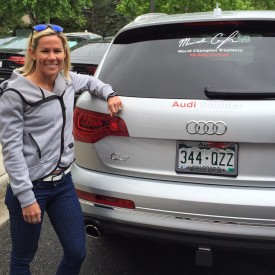 Mirinda Carfrae And Audi Boulder A Match Made In Boulder - Audi boulder
