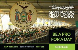 Competitive Cyclists from Around the World to Participate in the Fifth Annual Campagnolo Gran Fondo New York and the Inaugural Global GFNY Championship on May 17th