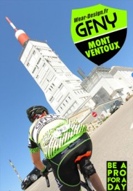 Riders conquer Mont Ventoux at inaugural GFNY race