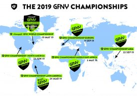 GFNY Announces 2019 Championship Races on Five Continents
