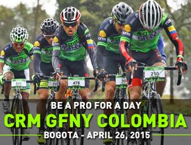 CRM GFNY Colombia: big success on fully closed course for World's Highest Gran Fondo