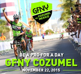GFNY Cozumel: 1700 riders competed under ideal conditions