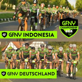 The Global Marathon Cycling Series returns to Germany and Indonesia for GFNY Super Sunday