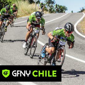 Chilean riders Alejandro Morales and Aranza Villalón crowned champions of GFNY Chile