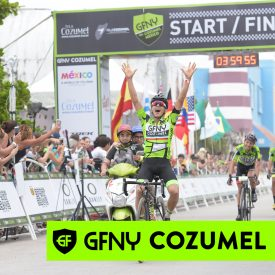 Defending champion, Flavio De Luna repeats to take his 2nd GFNY Cozumel title