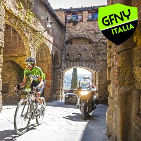 GFNY Italia: Riders Tackled Strade Bianche and Steep Tuscan Hills