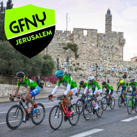 1500 GFNY Riders from 30 Countries Took on the Streets of Jerusalem