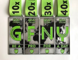 GFNY introduces Multi-Finisher Medals