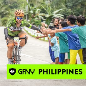 1000's of spectators cheer on riders at inaugural GFNY Philippines